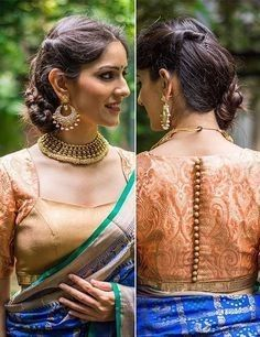 Kalamkari Saree Work Blouse Designs (227)