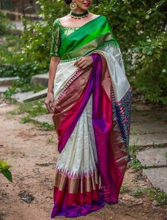 Kalamkari Saree Work Blouse Designs (25)