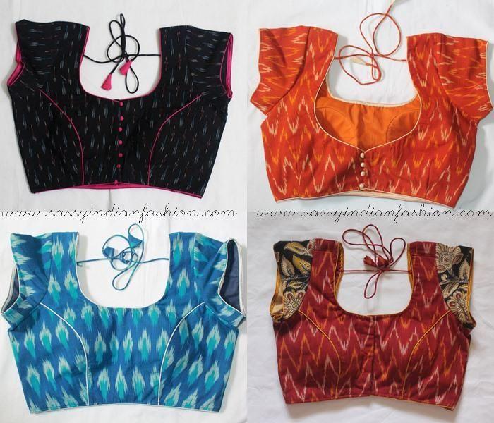 Kalamkari Saree Work Blouse Designs (27)