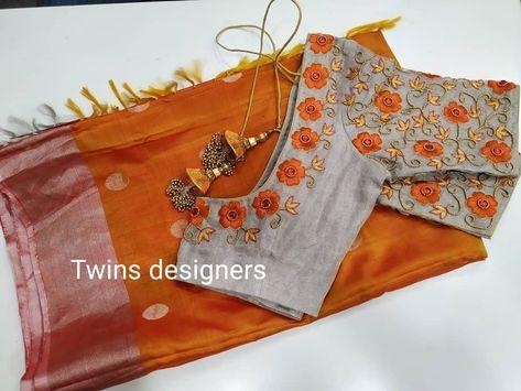 Kalamkari Saree Work Blouse Designs (29)