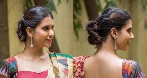 kalamkari saree work blouse designs