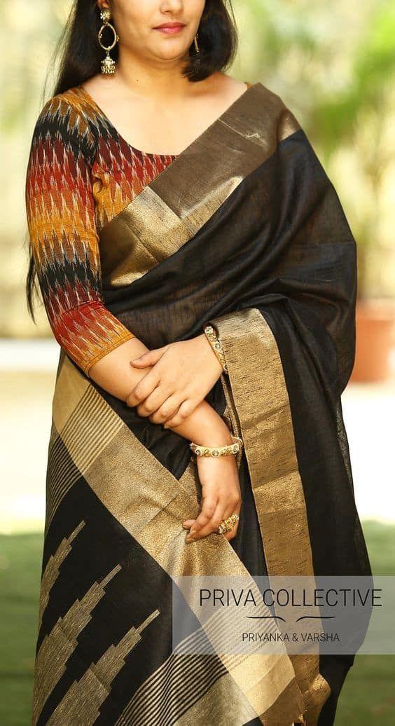 Kalamkari Saree Work Blouse Designs (42)