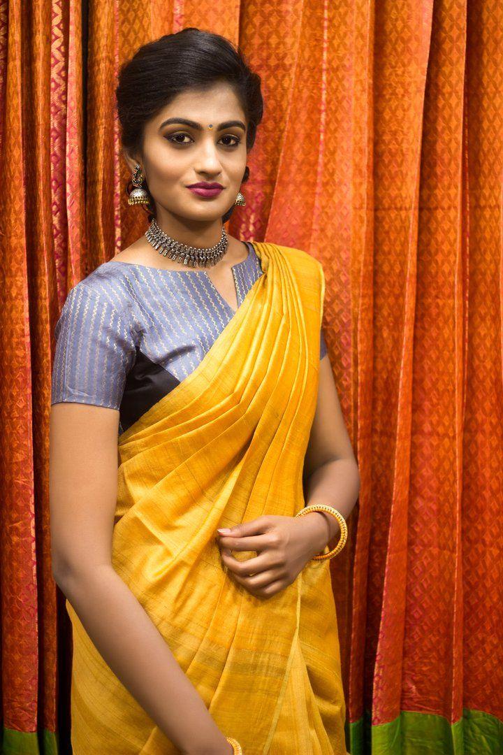 Kalamkari Saree Work Blouse Designs (54)