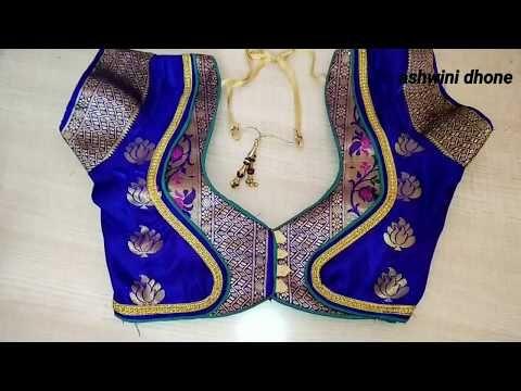 Kalamkari Saree Work Blouse Designs (56)