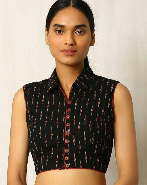 Kalamkari Saree Work Blouse Designs (8)