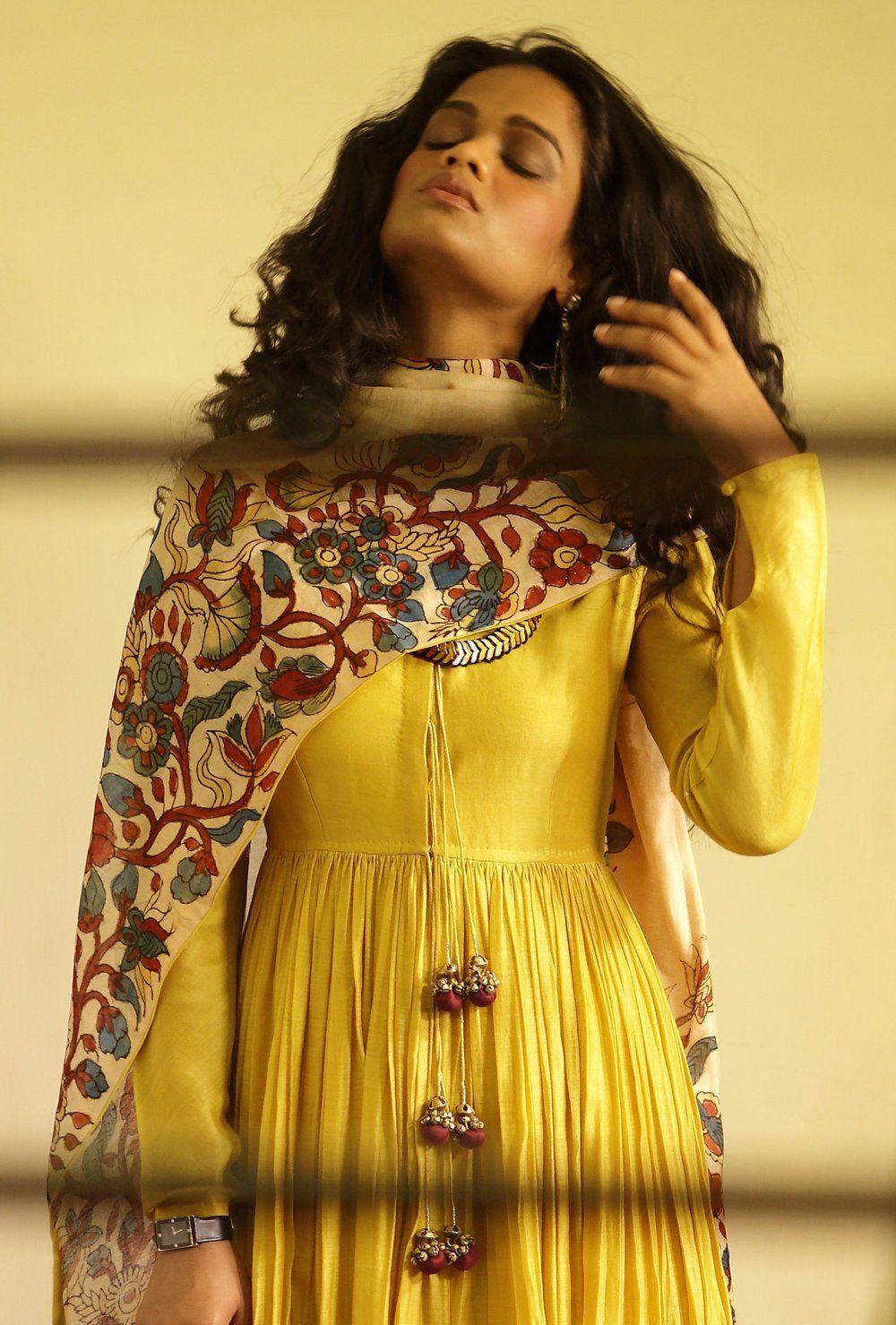 Kalamkari Saree Work Blouse Designs (94)