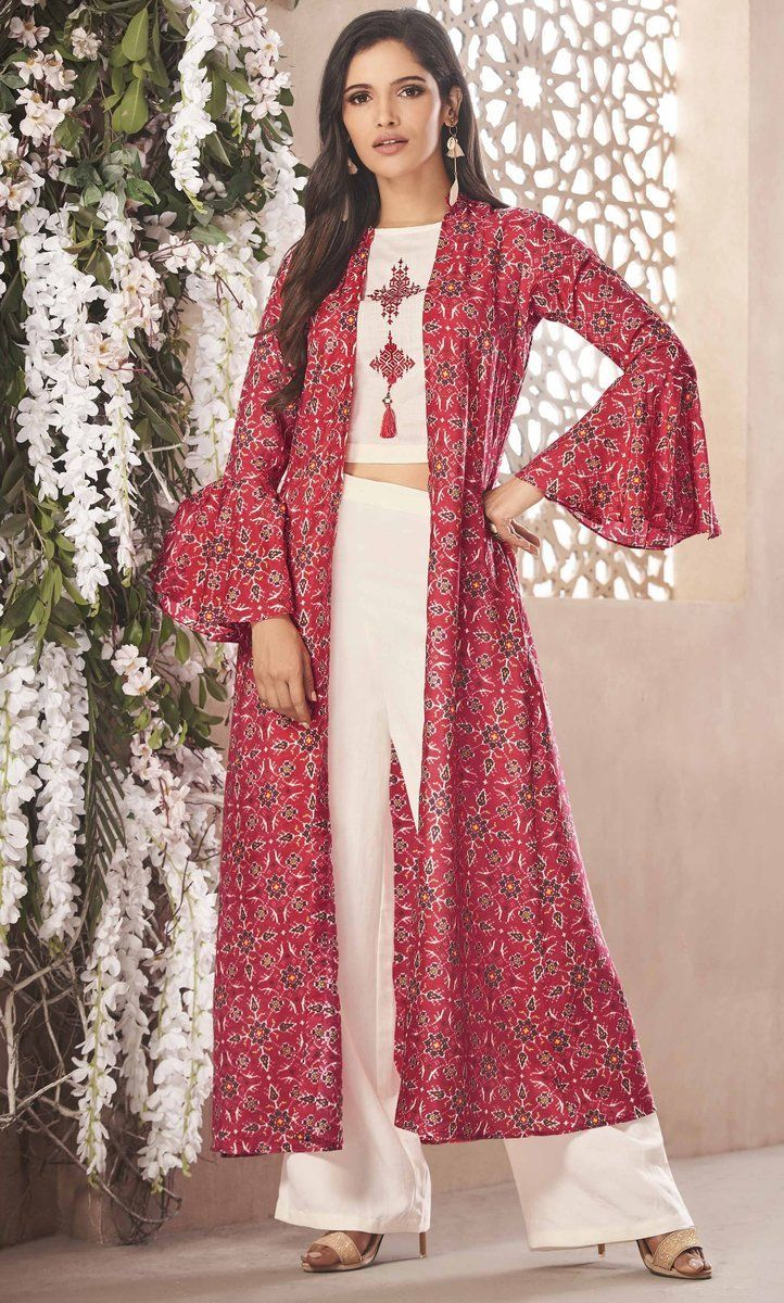 Party Wear Heavy Kurtis For Marriage (102)