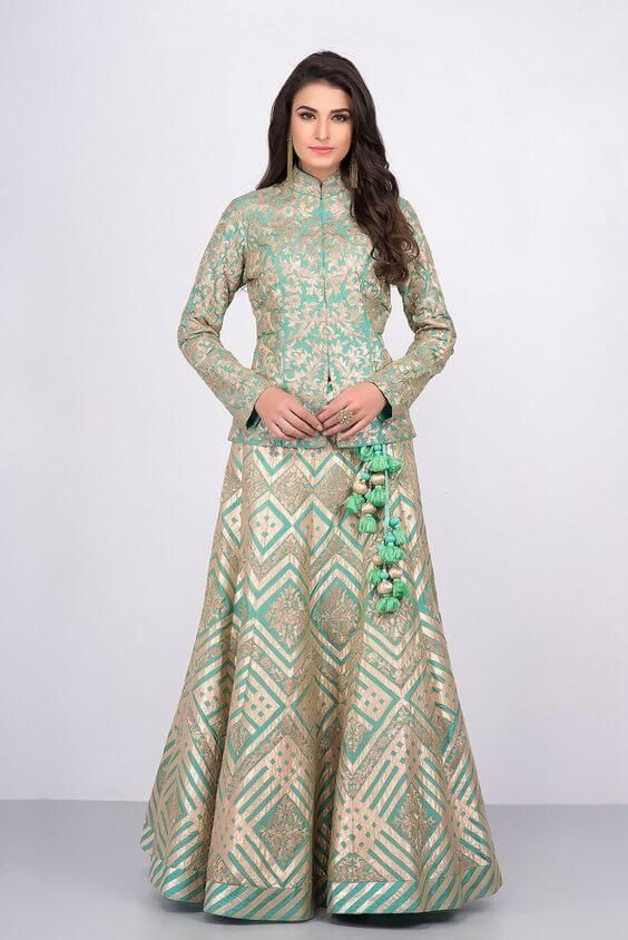 Party Wear Heavy Kurtis For Marriage (103)