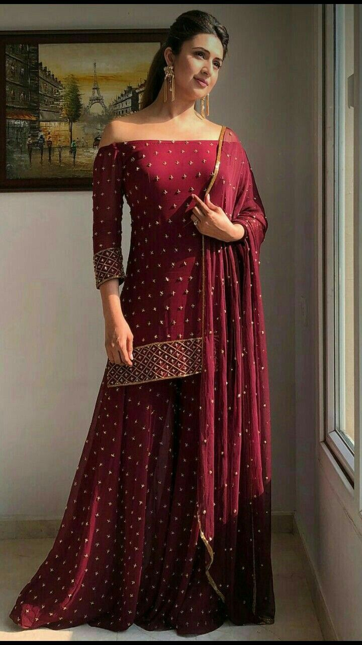 Party Wear Heavy Kurtis For Marriage (104)