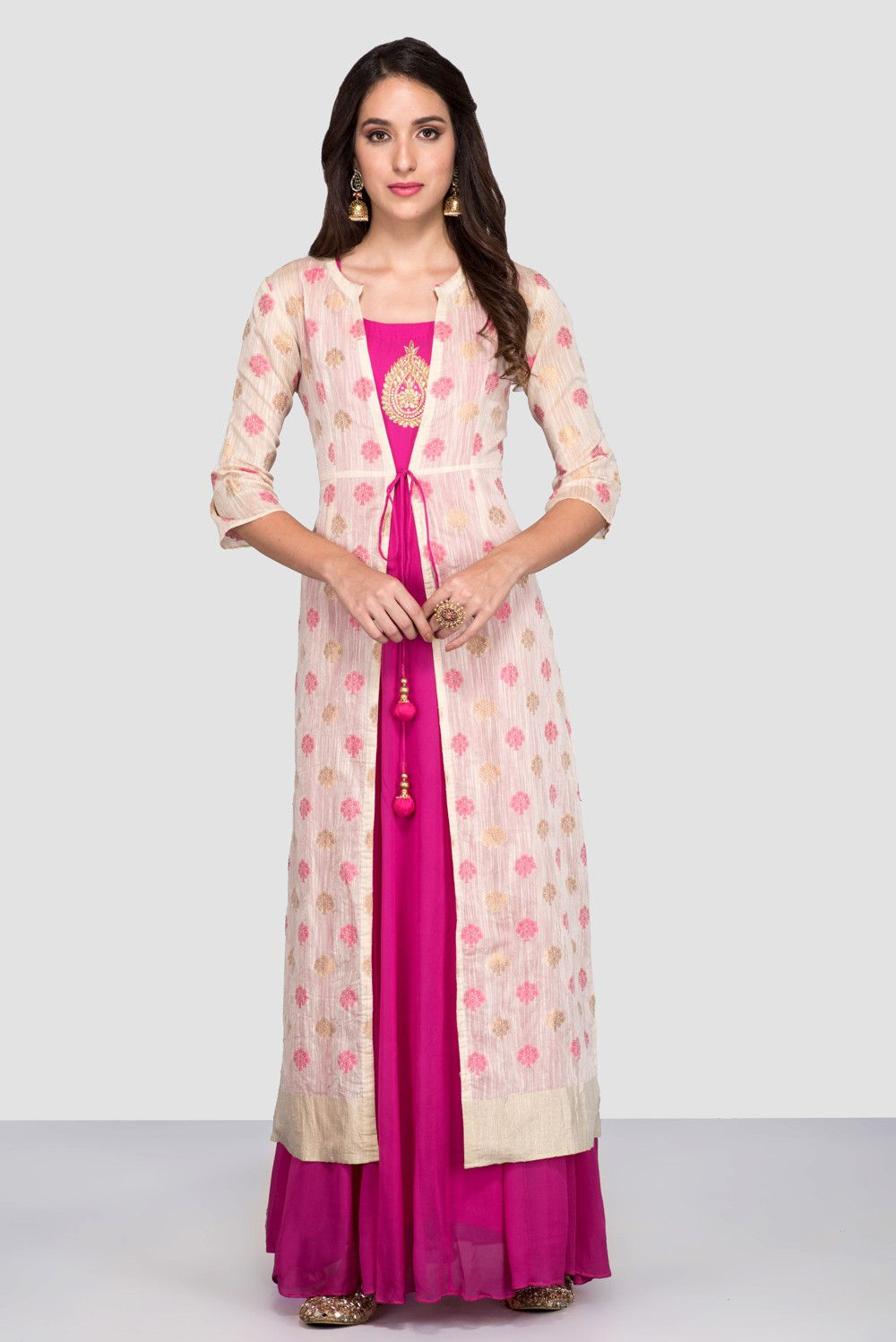 Party Wear Heavy Kurtis For Marriage (11)