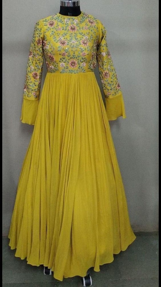 Party Wear Heavy Kurtis For Marriage (110)