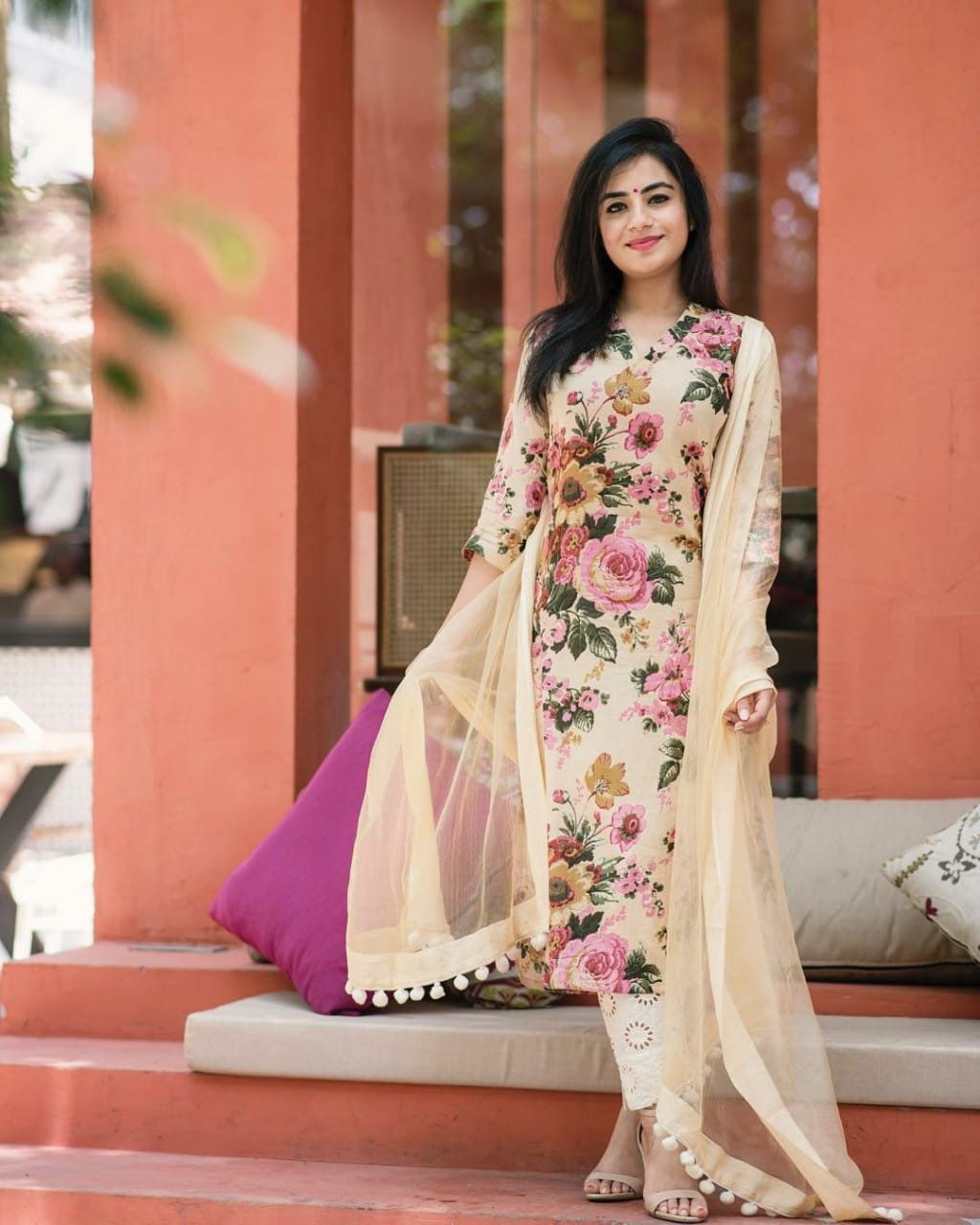 Party Wear Heavy Kurtis For Marriage (113)