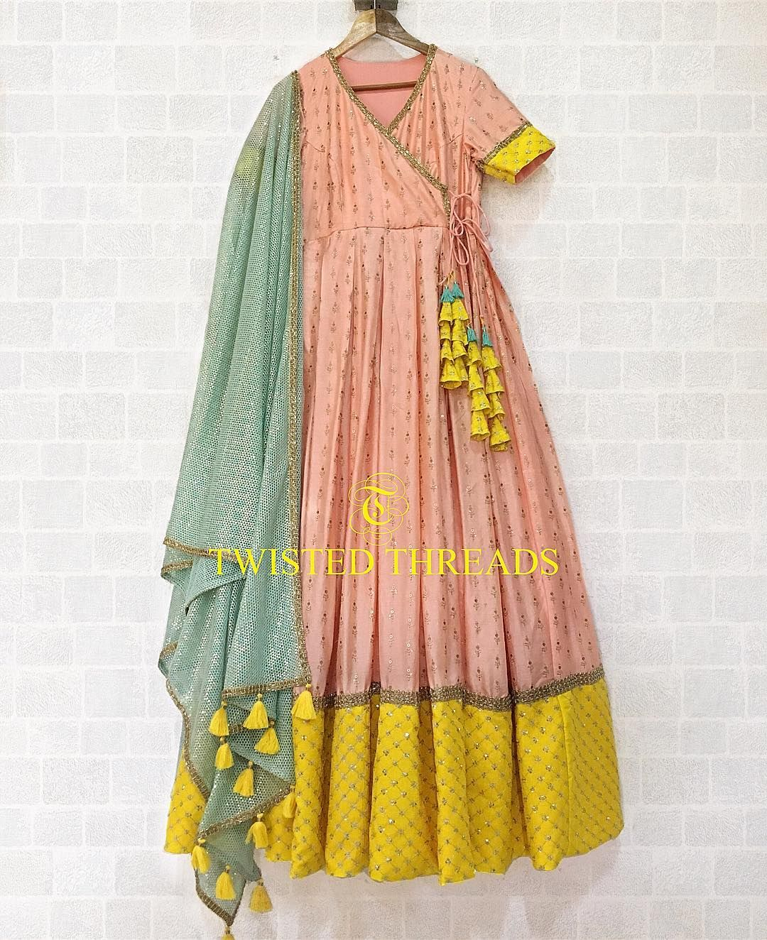 Party Wear Heavy Kurtis For Marriage (118)
