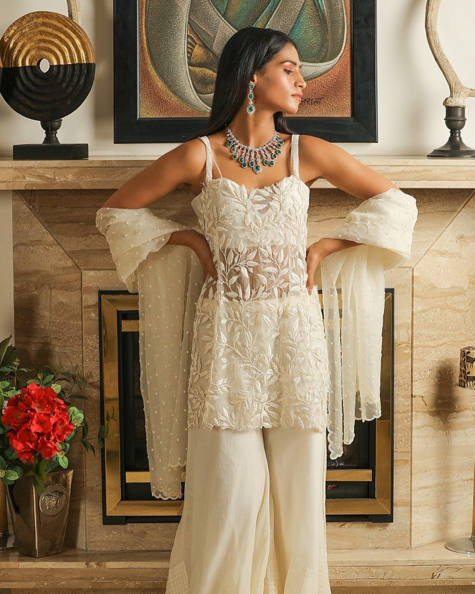 Party Wear Heavy Kurtis For Marriage (119)