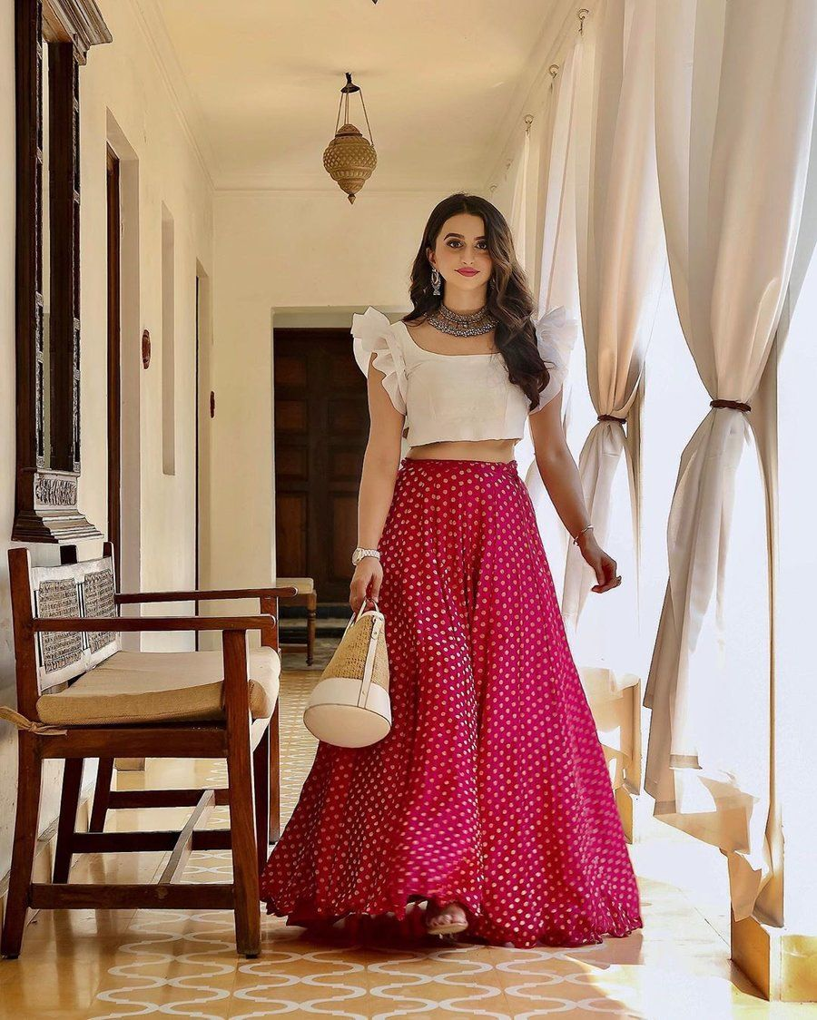 Party Wear Heavy Kurtis For Marriage (12)