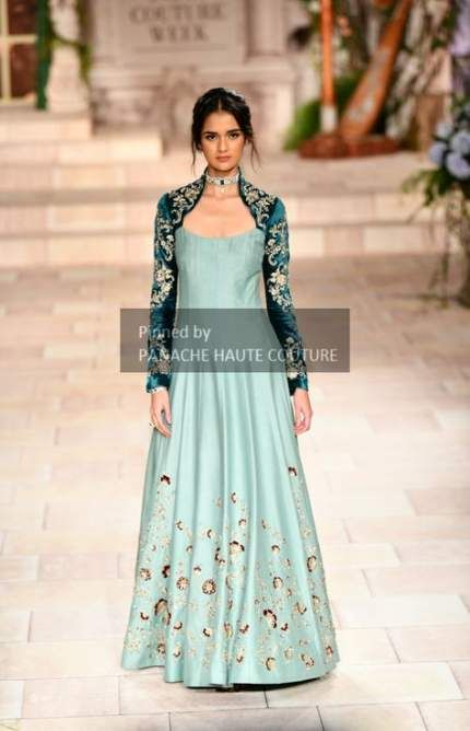 Party Wear Heavy Kurtis For Marriage (122)