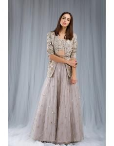Party Wear Heavy Kurtis For Marriage (123)