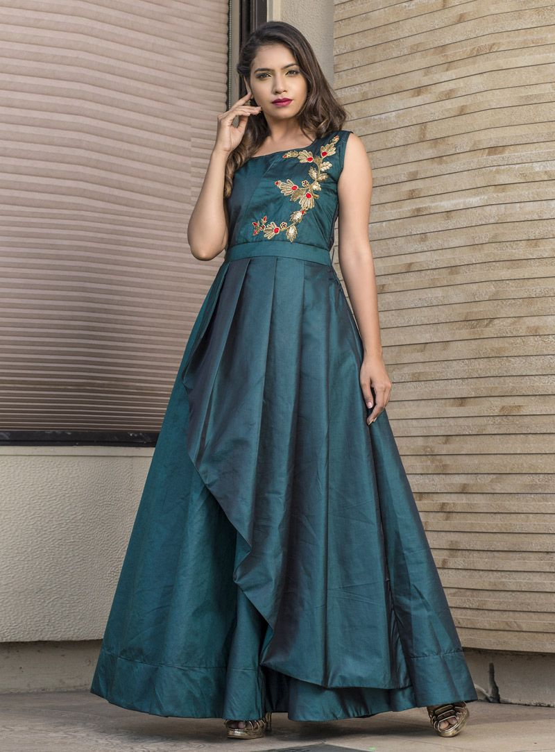 Party Wear Heavy Kurtis For Marriage (128)