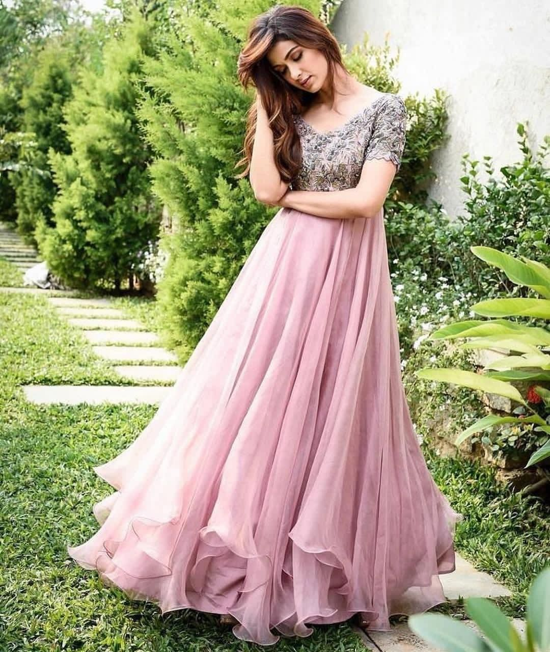Party Wear Heavy Kurtis For Marriage (13)