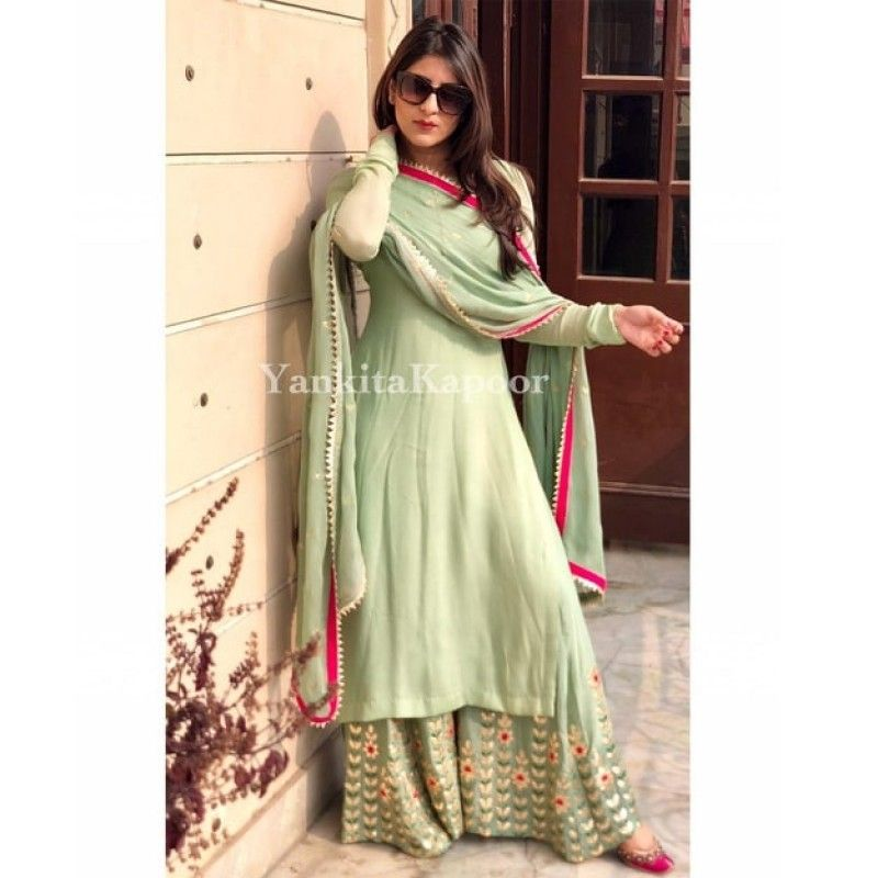 Party Wear Heavy Kurtis For Marriage (131)