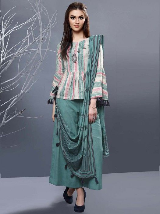 Party Wear Heavy Kurtis For Marriage (139)