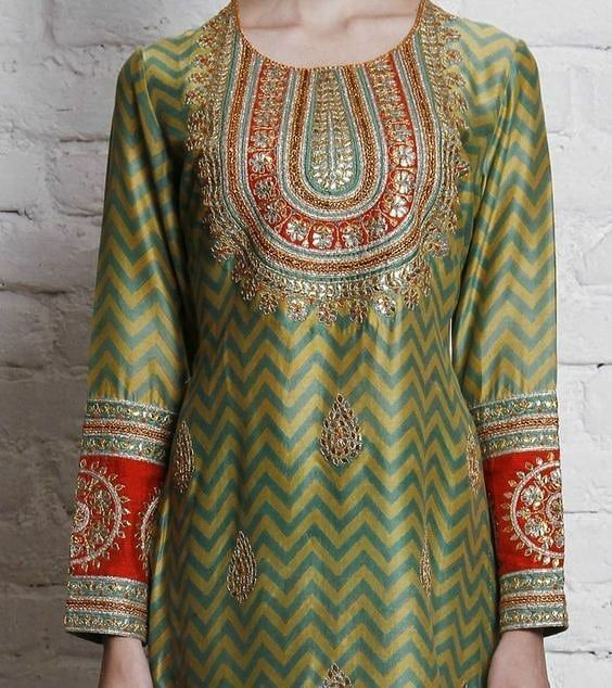 Party Wear Heavy Kurtis For Marriage (14)