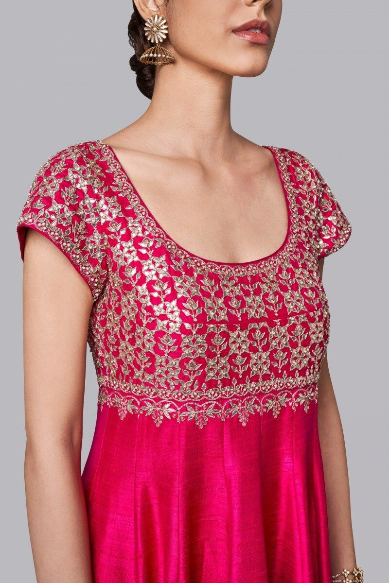 Party Wear Heavy Kurtis For Marriage (140)