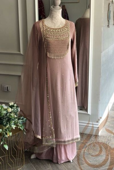 Party Wear Heavy Kurtis For Marriage (155)