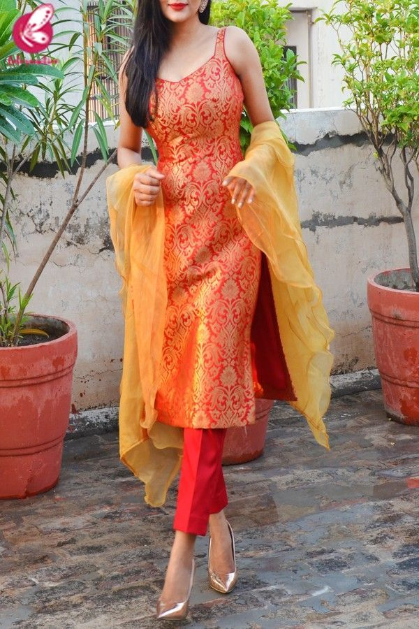 Party Wear Heavy Kurtis For Marriage (157)