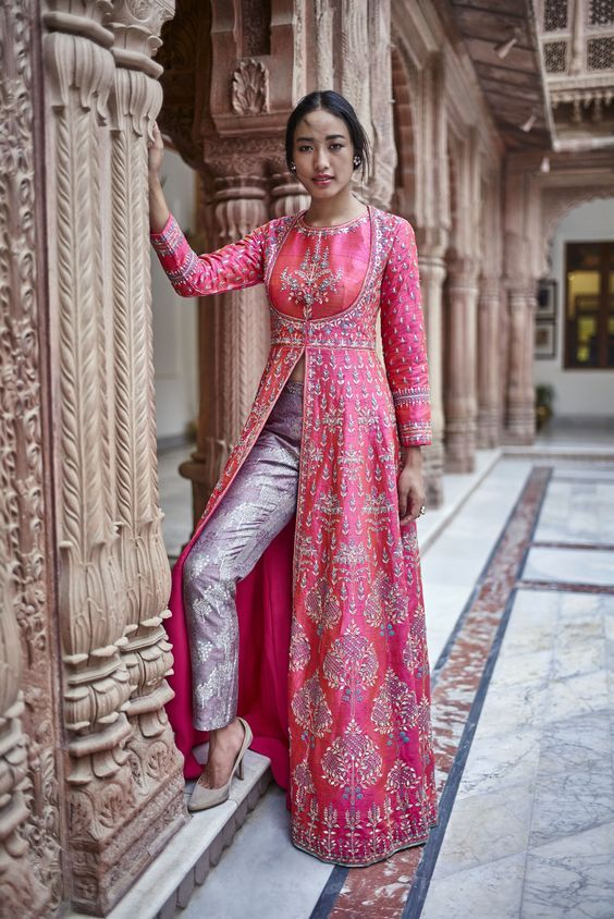 Party Wear Heavy Kurtis For Marriage (160)