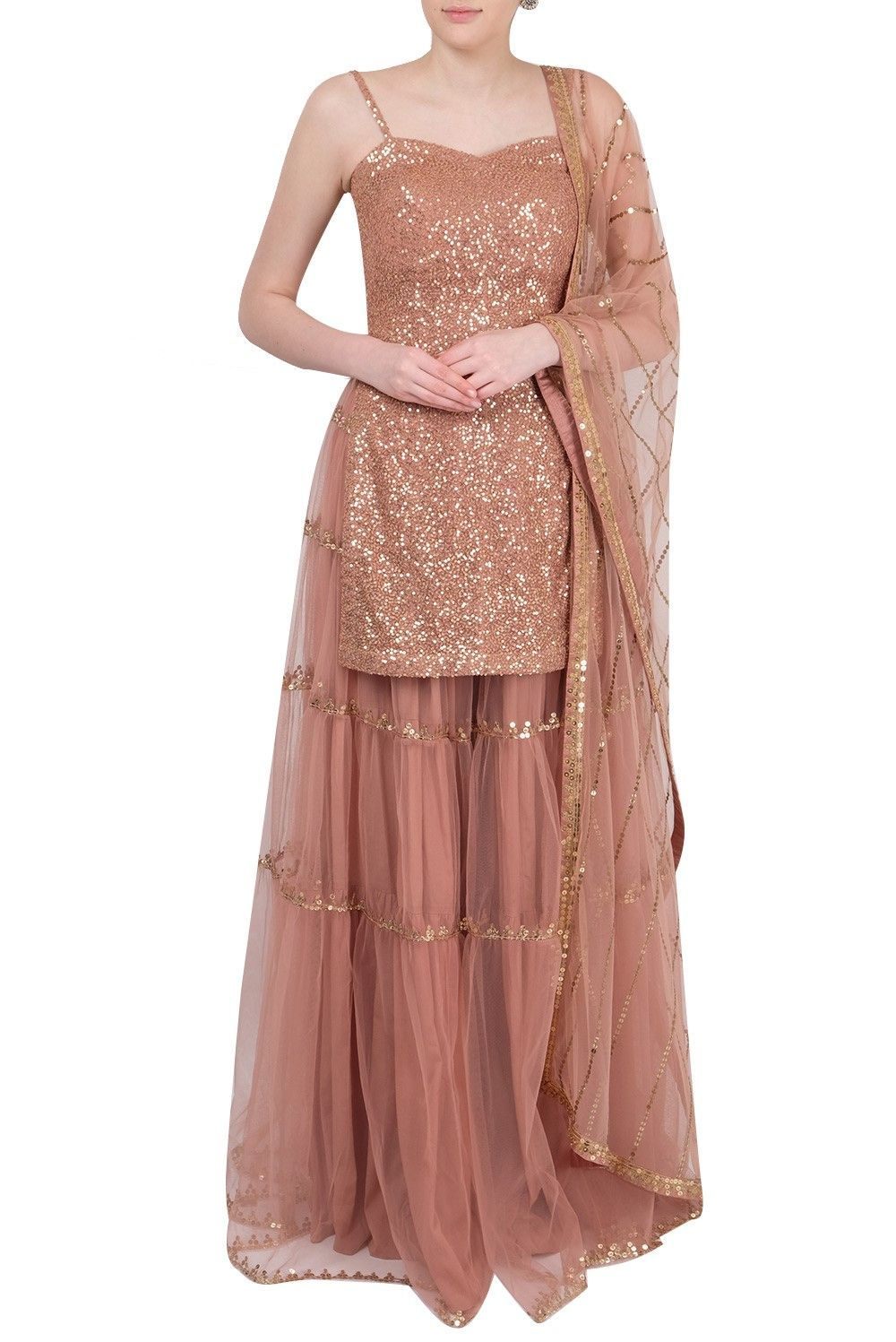 Party Wear Heavy Kurtis For Marriage (18)