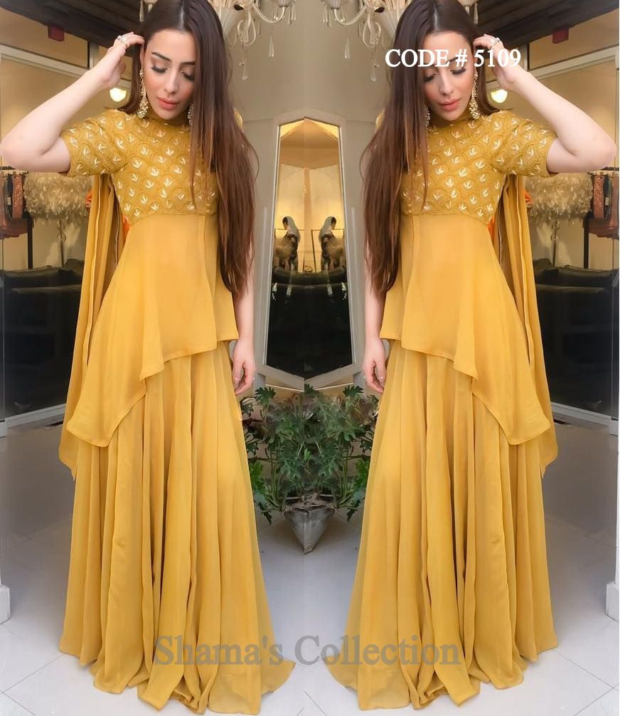 Party Wear Heavy Kurtis For Marriage (195)