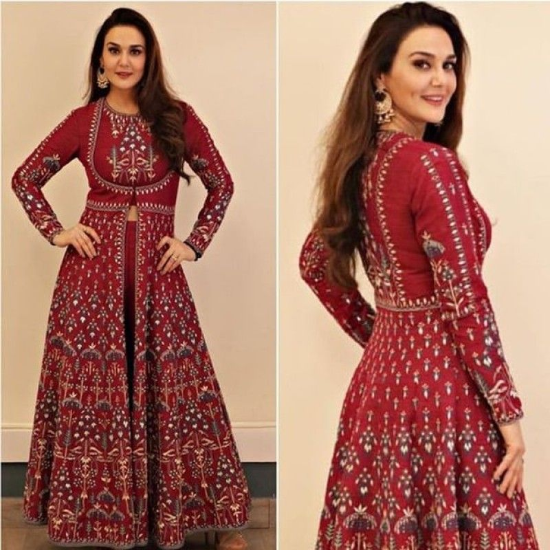 Party Wear Heavy Kurtis For Marriage (196)