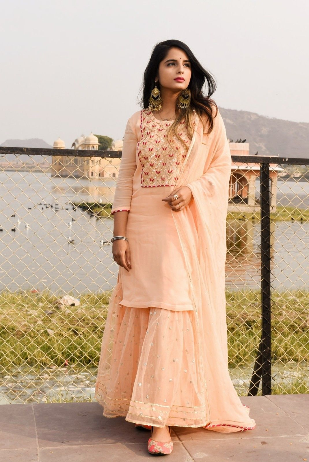 Party Wear Heavy Kurtis For Marriage (198)