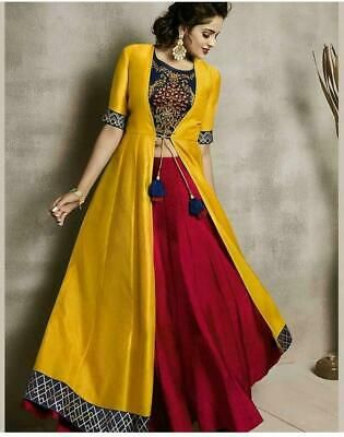 Party Wear Heavy Kurtis For Marriage (201)