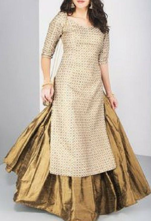 Party Wear Heavy Kurtis For Marriage (204)