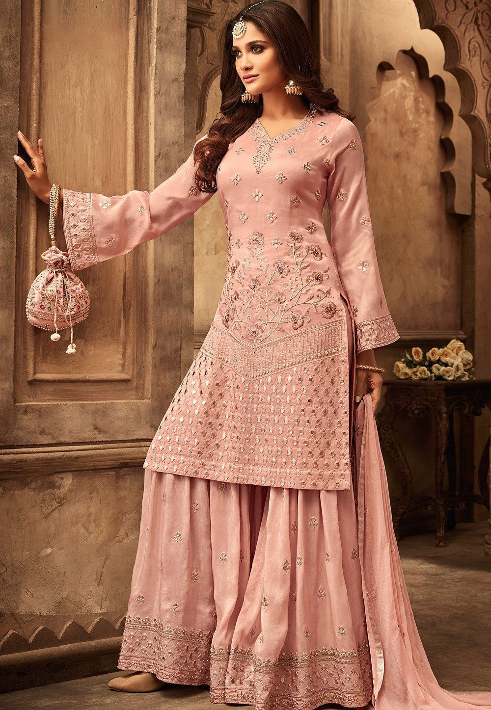 Party Wear Heavy Kurtis For Marriage (205)