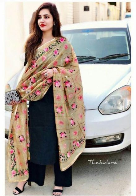 Party Wear Heavy Kurtis For Marriage (21)