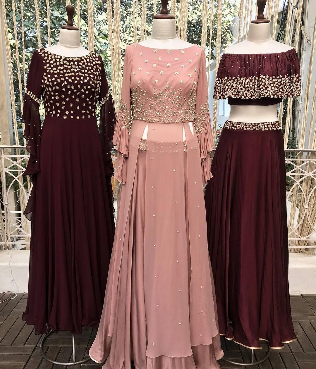 Party Wear Heavy Kurtis For Marriage (212)