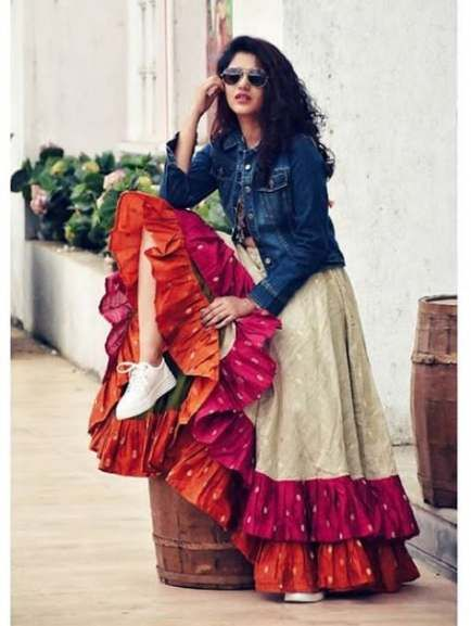 Party Wear Heavy Kurtis For Marriage (23)
