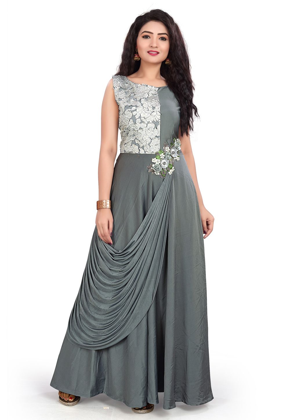 Party Wear Heavy Kurtis For Marriage (26)