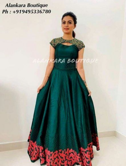 Party Wear Heavy Kurtis For Marriage (3)