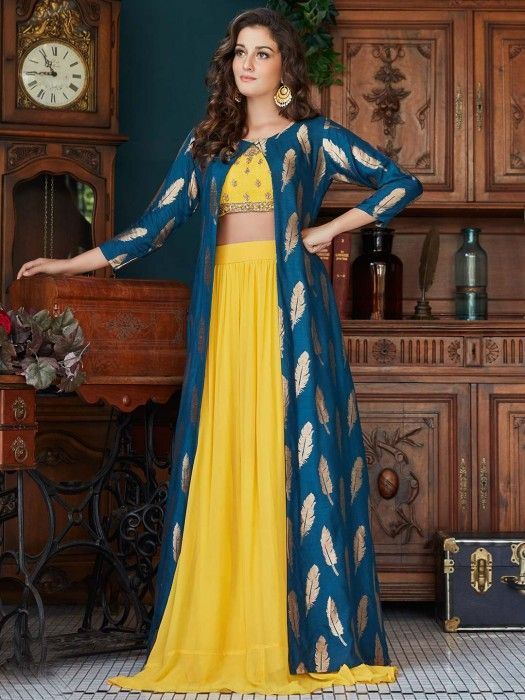 Party Wear Heavy Kurtis For Marriage (33)