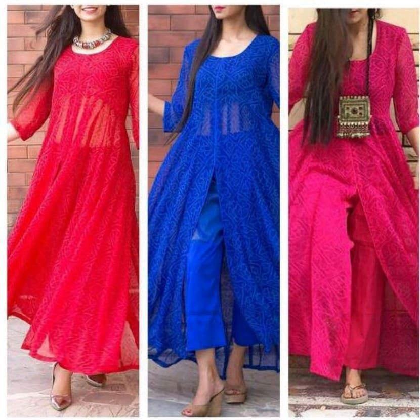 Party Wear Heavy Kurtis For Marriage (35)