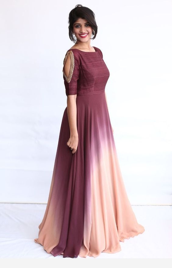 Party Wear Heavy Kurtis For Marriage (36)