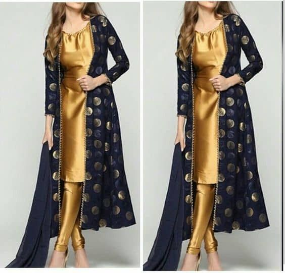Party Wear Heavy Kurtis For Marriage (38)
