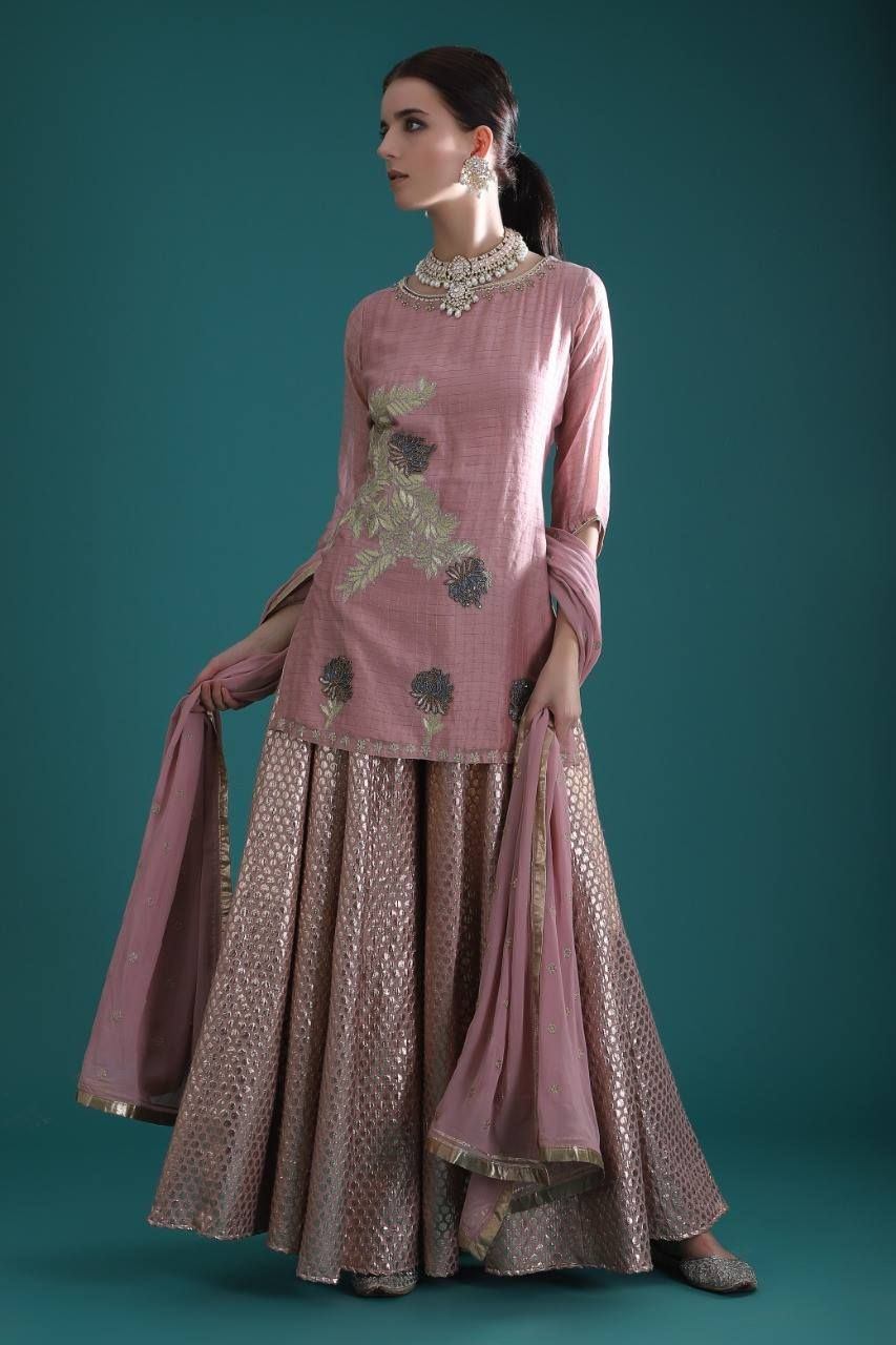 Party Wear Heavy Kurtis For Marriage (46)
