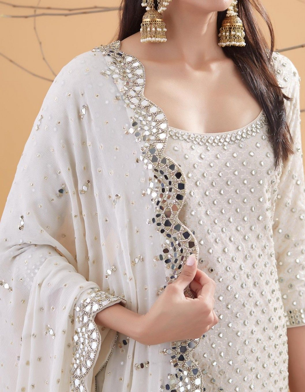 Party Wear Heavy Kurtis For Marriage (56)