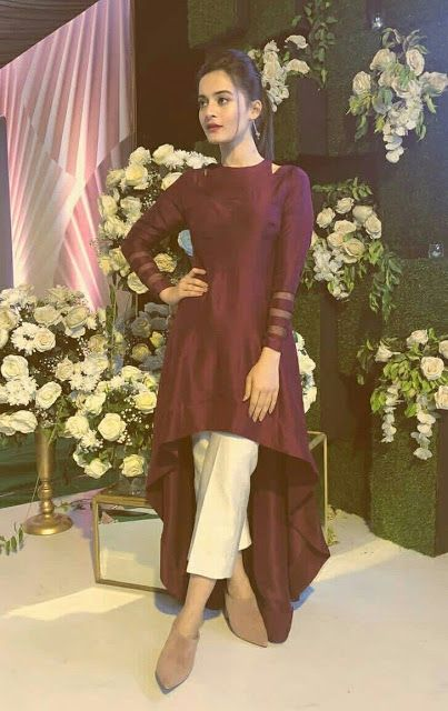 Party Wear Heavy Kurtis For Marriage (57)