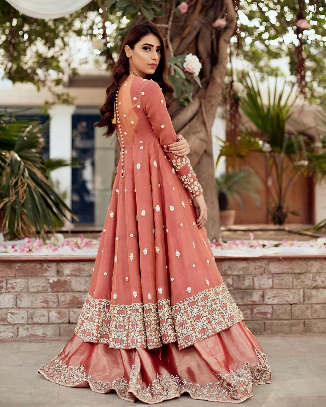 Party Wear Heavy Kurtis For Marriage (58)